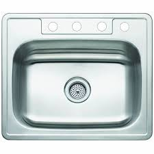25 Inch Kitchen Sink Single Bowl Self 25 Inch Stainless Steel Kitchen Sink