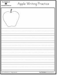 printable apple writing practice a to z teacher stuff printable
