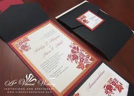 Red And Black Wedding Invitations Red Designs U2013 Page 2 U2013 A Vibrant Wedding