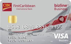 Visa Business Card Firstcaribbean International Bank Bizline Visa Business