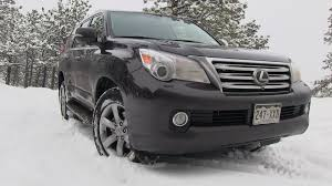 lexus gx vs honda odyssey 2013 lexus gx 460 snowy colorado off road 4wd tech demo review