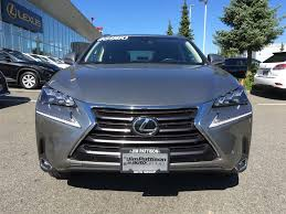 lexus for sale vancouver bc used 2015 lexus nx 200t 6a for sale in surrey british columbia