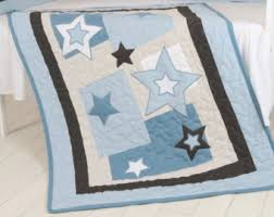 baby star quilt etsy