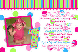 first birthday invitation words free printable invitation design