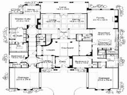 one story house plan one story house plans with courtyard new mediterranean house floor