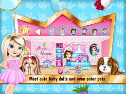 Cute doll house decorating games House interior