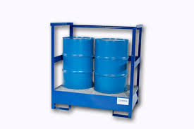 transport pallets stackable with side rails 2 drum stackable
