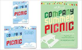 picnic flyers templates exol gbabogados co
