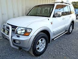 mitsubishi 2000 automatic mitsubishi pajero exceed 2000 white used vehicle sales