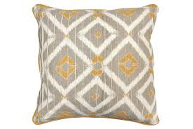 Valencia Bedroom Set Living Spaces Accent Pillow Marisol Natural Gold 22x22 Living Spaces
