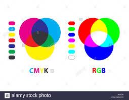 profile chart illustration rgb vector color paint blue colour