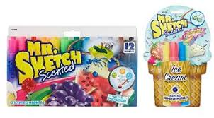 buy mr sketch scented markers 18 pack original and movie night