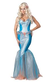 Mermaid Halloween Costume Sea Siren Mermaid Costume Mythical Creature Ebay
