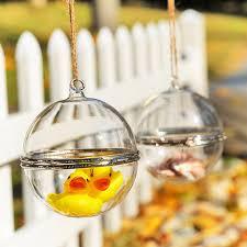 dia8cm openable glass bauble wedding decoration baubles