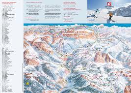 New York Ski Resorts Map by Val Gardena Piste Map