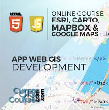 gis class online development of web based gis applications using esri products