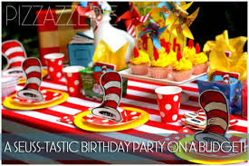 dr seuss party dr seuss birthday party on a budget pizzazzerie