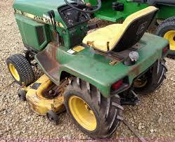 john deere 318 lawn mower item br9422 sold december 29