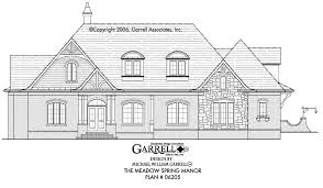 traditional farmhouse plans the meadow spring manor house plan house plans by garrell