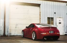 nissan 350z wallpaper wallpapers nissan 350z stance red back view automobile