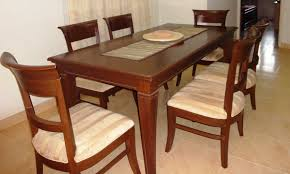 used wood dining table fascinating teak wood dining table model including used room
