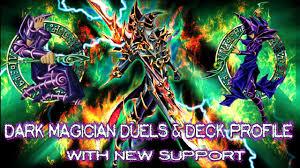 dark magician duels u0026 deck profile with new support bonus yugioh
