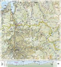 14ers Map National Geographic Colorado Trail North Map