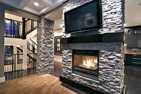 Mounting Tv Over Brick Fireplace by Tv Above Gas Fireplace Too Mounted Put Cable Box Demonstrate