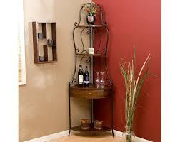 Corner Bookcase Units by Wrought Iron Corner Shelf Ideas Homesfeed