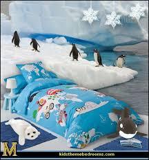 Penguin Comforter Sets Decorating Theme Bedrooms Maries Manor Penguin Bedrooms Polar