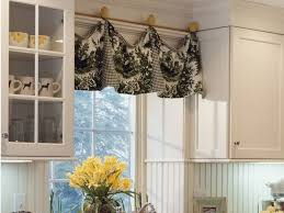 Vintage Style Kitchen Curtains by Kitchen Curtain Ideas Kitchen Wooden Piece Used Like Curtain