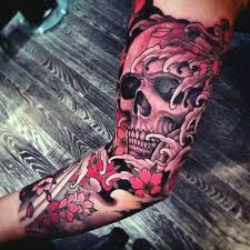 40 japanese skull designs for cool cranium ink ideas