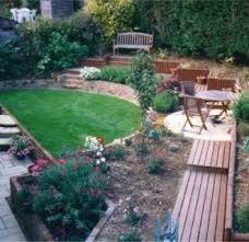 Sloping Backyard Landscaping Ideas 15 Excellent Sloped Garden Ideas Foto Inspirational Qatada