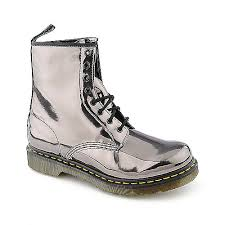 doc martens womens boots sale dr martens womens 1460 silver low heel combat shiekh shoes