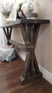 stunning handmade rustic farmhouse entryway table just the right