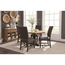 Parson Chairs Scott Living Bishop Dining Room Group With Parson Chairs And Round