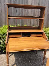 gorgeous solid wood drop front secretary desk houston furniture