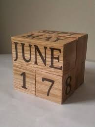 Gifts For Office Desk 28 Best Perpetual Wooden Calendars Images On Pinterest Wooden