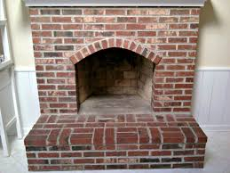 brick fireplace painting process brick anew blog