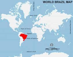 map of brazil brazil location map location map of brazil
