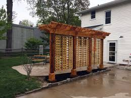 Pergola Post Base by How To Build A Pergola That Will Last And Withstand The Elements