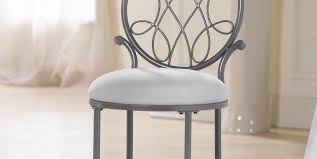 Upholstered Vanity Chairs For Bathroom by Infatuate Illustration Keep Up Metal Counter Stools Tags