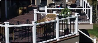 fiberon horizon series composite railings