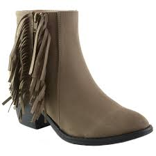s boots with fringe alpine swiss arosa s ankle boots fringe shoes block high