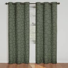 new set 2 curtains panels drapes pair 95 inch l blackout grommet