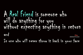 wisdom of what is a real friend
