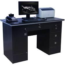 glass computer corner desk office desk corner secretary desk space saving computer desk