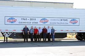 utility trailer manufacturing co celebrates 50th anniversary of