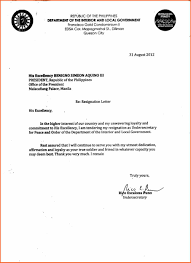 example of letters of resignation letters of resignation sample