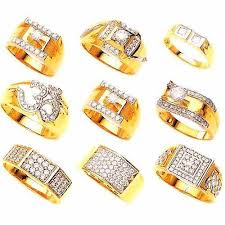 gents ring finger mens diamond ring jain manufacturer in karol bagh new